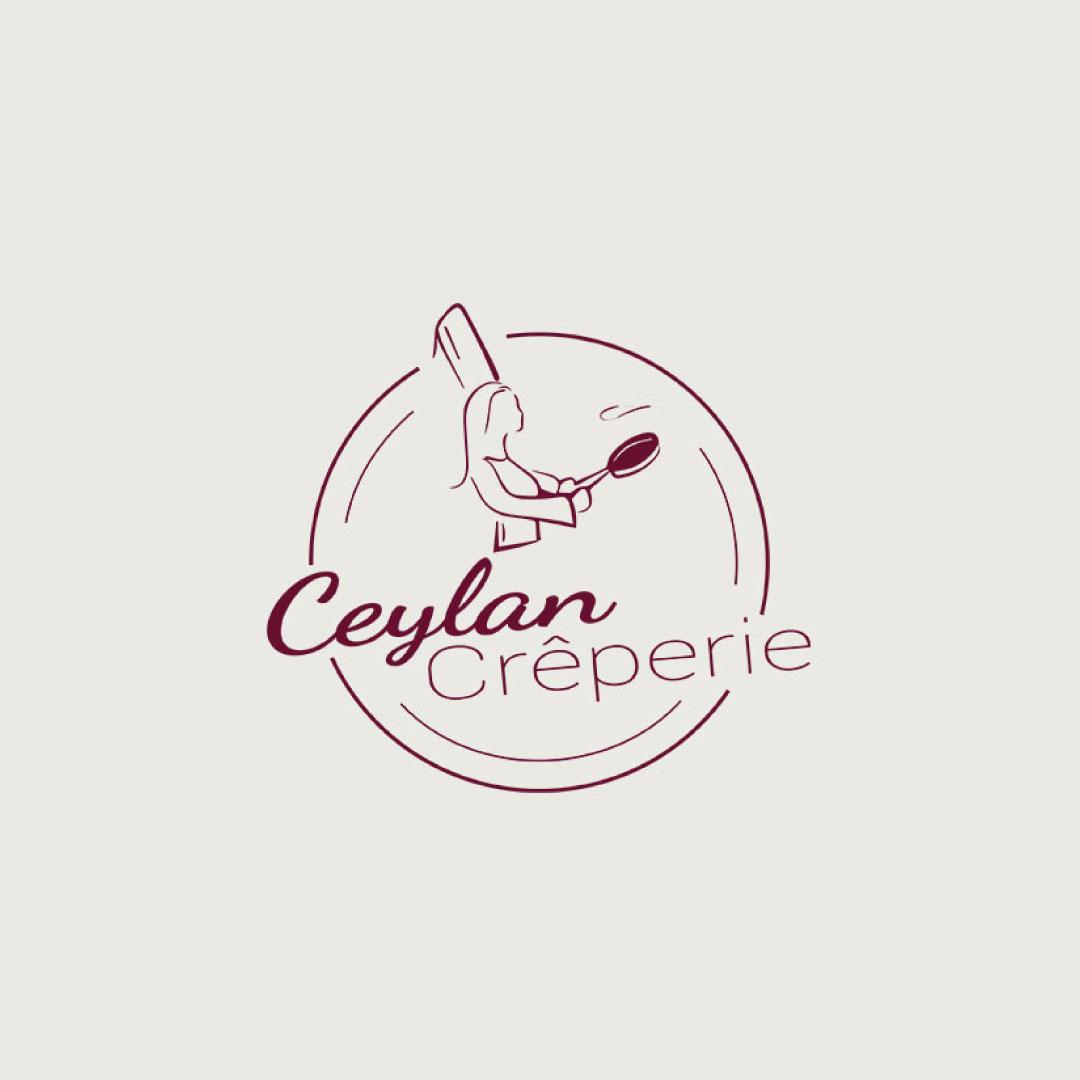 Logo, Ceylan Crêperie
