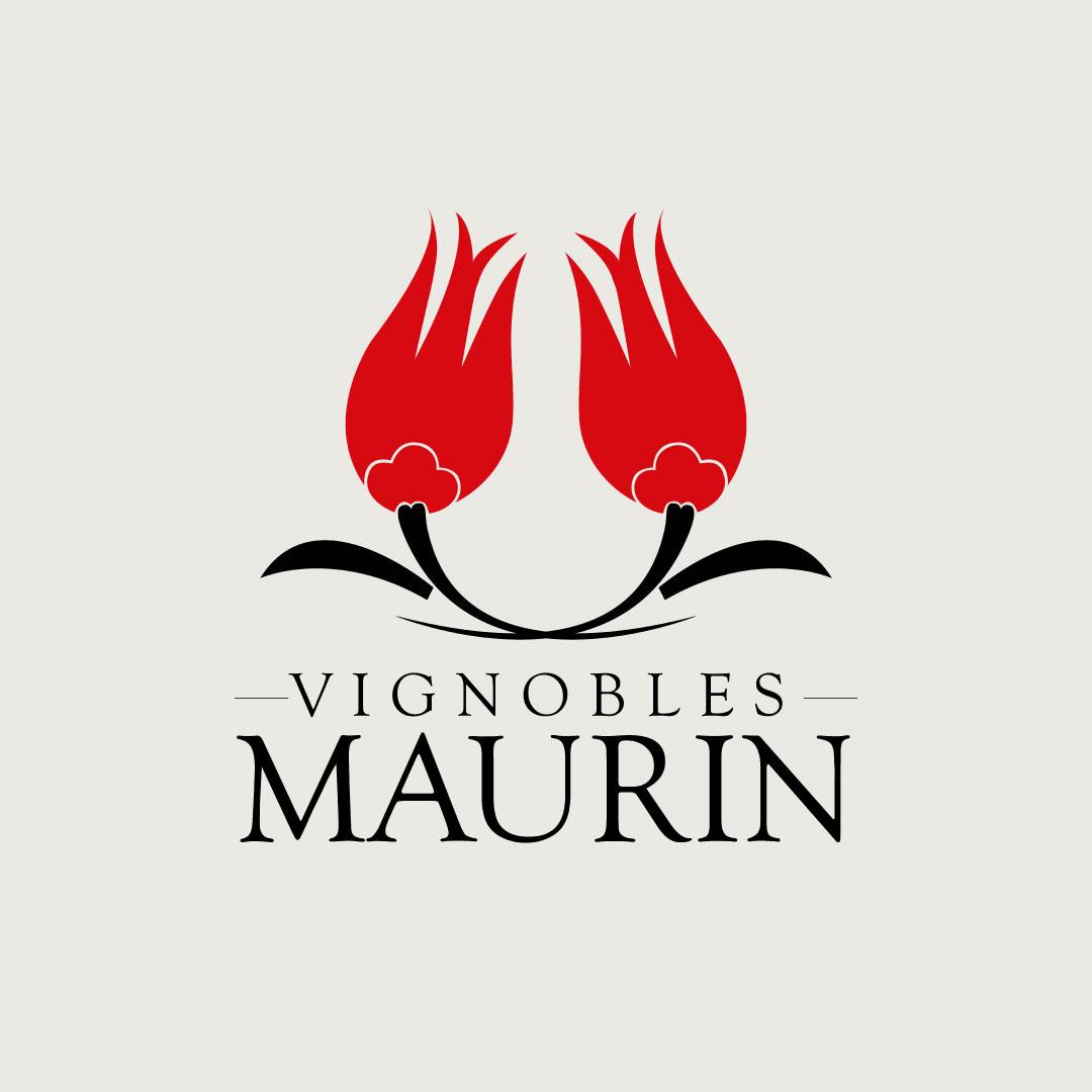 Logo, Vignobles Maurin
